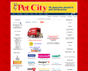 Pet City On-line Shopping Cart