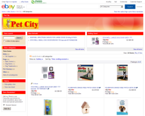 Pet City eBay