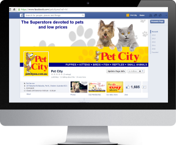 Pet City Facebook